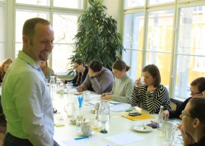Workshop v Praze